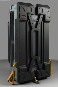 Robocop Illustration 208StorageCase V07 HiPoly 020234