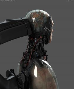 Robocop Illustration AsseblyTable V17 Brain FDeMartini 020234