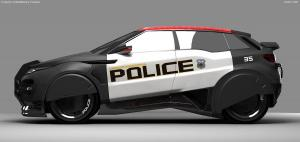 Robocop Illustration PoliceCar V13 Full FDeMartini 020234