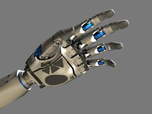Robocop Illustration ProstheticHand V08 Arm 020234