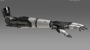 Robocop Illustration ProstheticHand V19 Revisions 020234
