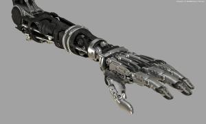 Robocop Illustration ProstheticHand V27 ExposedMechanics 020234